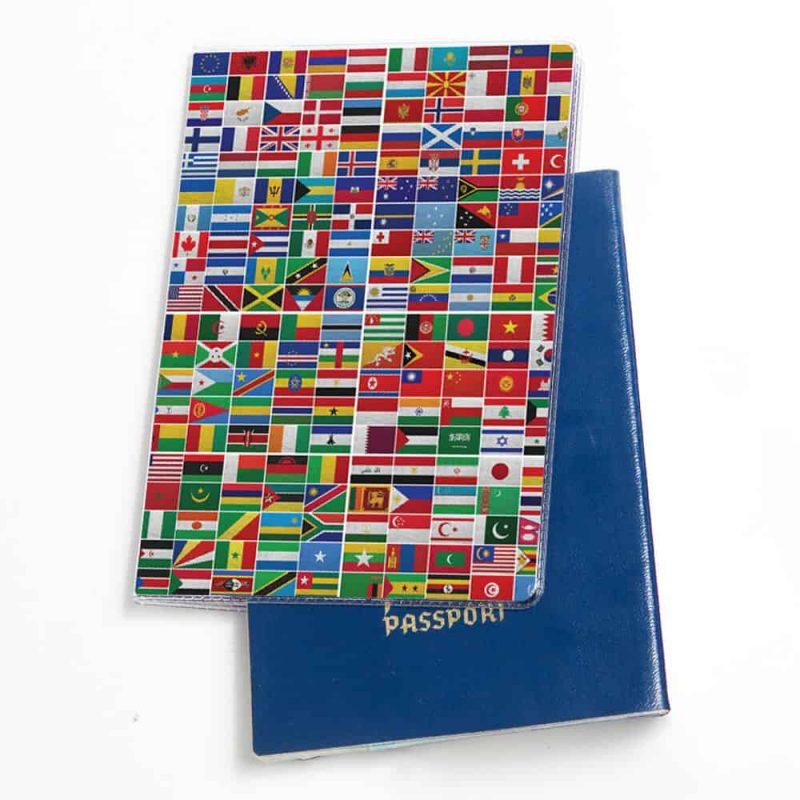 כיסוי לדרכון | כיסוי לדרכון דגלים