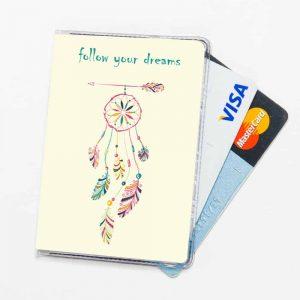 כיסוי לחוגר כיסוי לכרטיסי אשראי